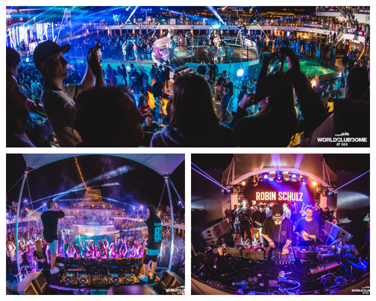 Worldclubdome at sea